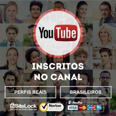 Inscritos para Canal no YouTube